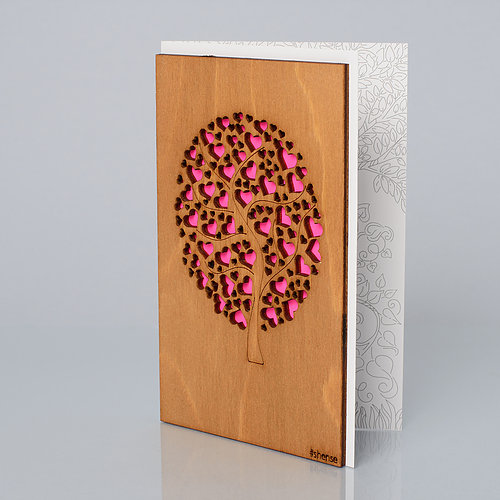 Открытка «SHENSE», — «Дерево любви»