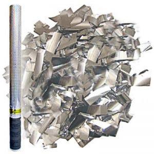Хлопушка серебро