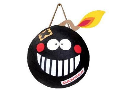 Пиньята «Веселая Бомба» Большая