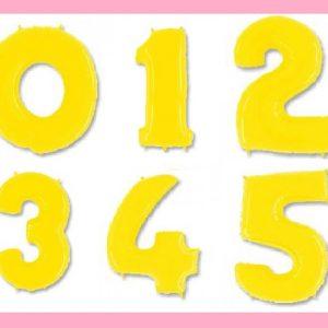 -цифра ноль желтая-500x500