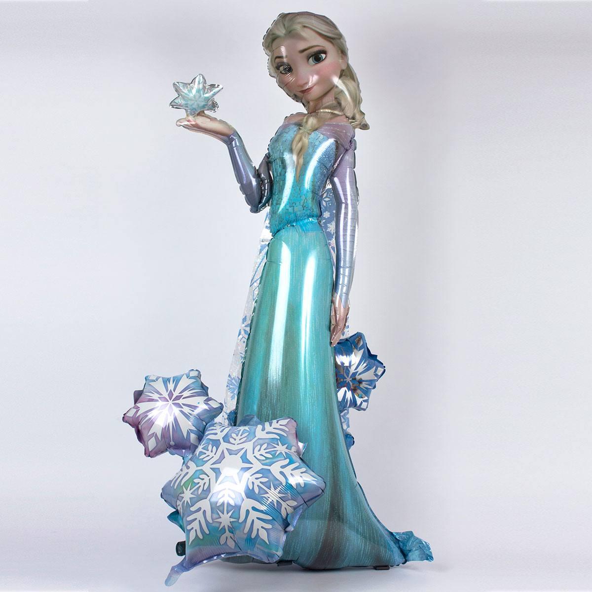 Шар ходячий Принцесса Эльза, Холодное сердце, 84см
