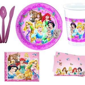 принцессы одноразовая посуда