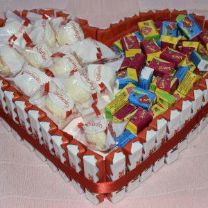 Сердце-тортик