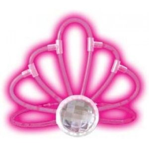 Светящаяся тиара розовая