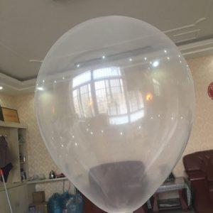 Воздушный шарик 30 см, прозрачный