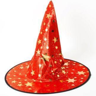 Карнавальная шляпа, Звездочет, красная