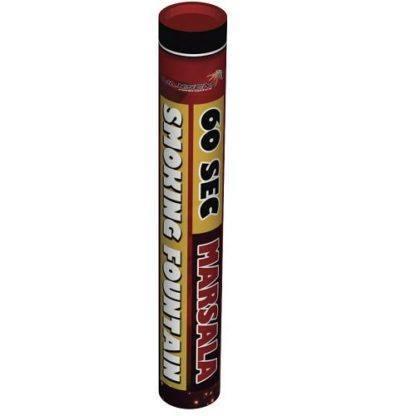 Дым вишневый 60 сек. h -220 мм