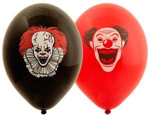 Набор шаров Клоун ужасный
