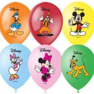 """Воздушные шарики """"Микки Маус"""", 10 шт. 30 см"""