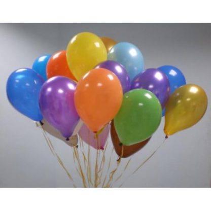 30 шаров с гелием, обработанных Hi-float
