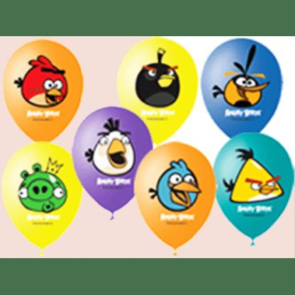 """Воздушные шарики """"Angry Birds"""" 10 штук"""