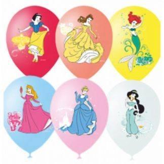 """Воздушные шарики Дисней """"Принцессы"""" 10 шт. 30 см."""