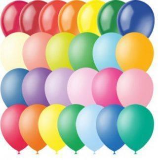 Воздушные шарики из латекса 10 шт. 30 см