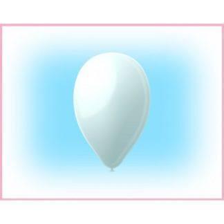 """Воздушный шарик 12"""" Белый 10 штук"""