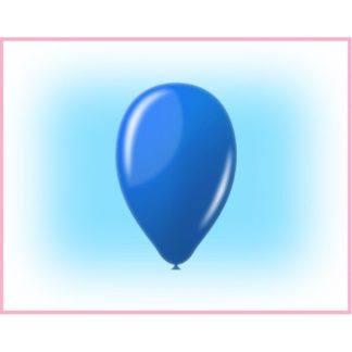 """Воздушный шарик 12"""" синий 10 штук"""