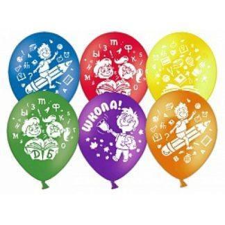 "Воздушные шарики ""Школа"" 50 шт."