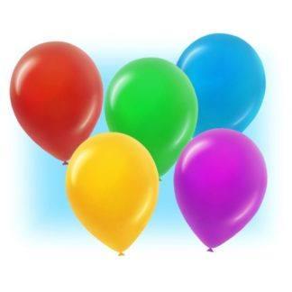 Воздушные шарики ассорти 100 штук