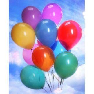 Гелиевые шарики 30 см (1 шт.)