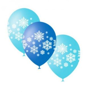 "Воздушный шарик ""Снежинки"" 50 шт."