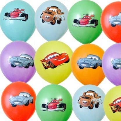 """Воздушные шарики """"Тачки"""", 10 шт. 30 см"""