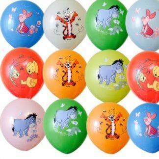 """Воздушные шарики Дисней """"Винни Пух"""", 10 шт. 30 см"""