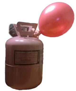 Портативный баллон с гелием на 35 шариков