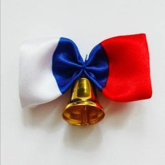 """Колокольчик на выпускной """"бантик триколор"""""""