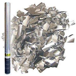 Пневмохлопушка Серебряное конфетти, 60см