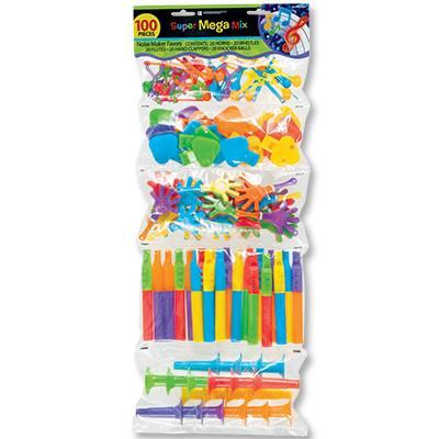 Игрушки для пиньяты Дуделки-Шумелки,100шт.