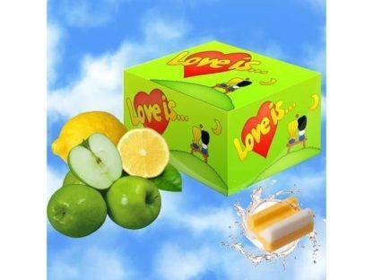 """Жевательная резинка """"Love is"""" яблоко-лимон 100 шт."""