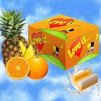 """Жевательная резинка """"Love is"""" апельсин-ананас 100 шт."""