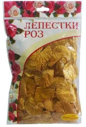 Лепестки роз, золотые, 30гр