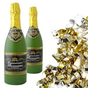 Пневмохлопушка Шампанское, 30см