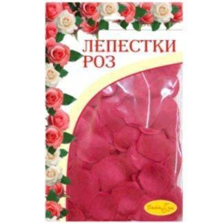 Лепестки роз, розовые, 30гр
