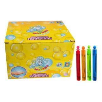 """Нелопающиеся мыльные пузыри """"Мы-шарики!"""", которые можно потрогать, колба 5 мл, 10шт"""