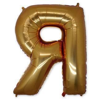 Фольгированный шар буква, 102 см, Русский Алфавит, (а-я), в асс