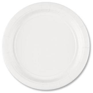 Тарелки белые, 8шт