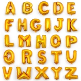 Шары Буквы