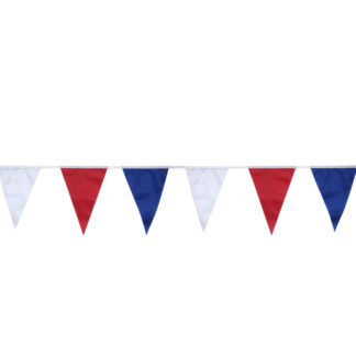 Праздничная гирлянда Триколор, флажки 10м