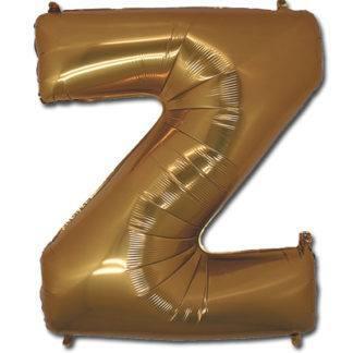 Фольгированный шар буква, 102см, Английский алфавит, (A-Z), в асс