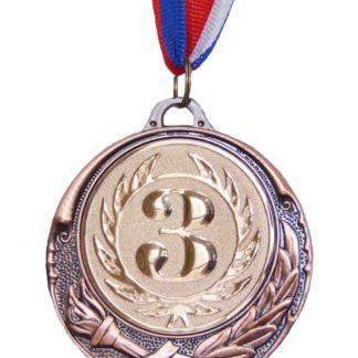 Медаль спортивная 3 место, d70
