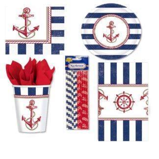Набор Морской праздничной посуды