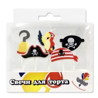 Свечи Пиратские, 5шт
