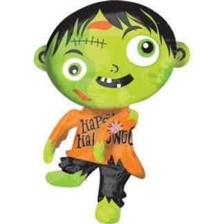 Фольгированный шар Зомби зеленый, 78см