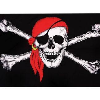 Флаг Пиратский 90х150см