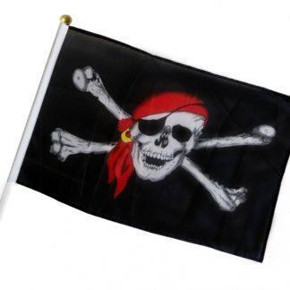 Флаг Пиратский 15х21см