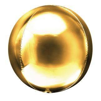 Шар Сфера 3D, Золото, 51 см