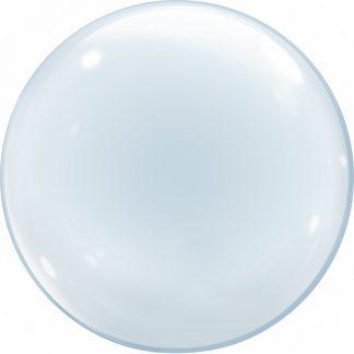 Сфера 3D, Прозрачный, 61 см