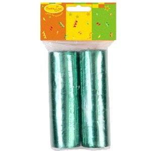 Серпантин фольгированный 2ст/36колец Зеленый