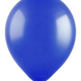 Шары декоратор Синие, 13см, 100 штук